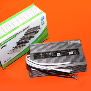 Блок питания герметичный (металл) 250 W 12 V