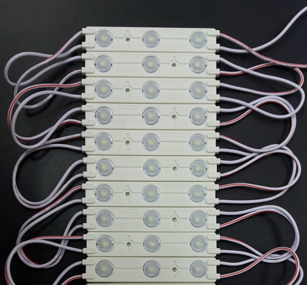 Светодиодный модуль Premium 3*2835 CW Линза