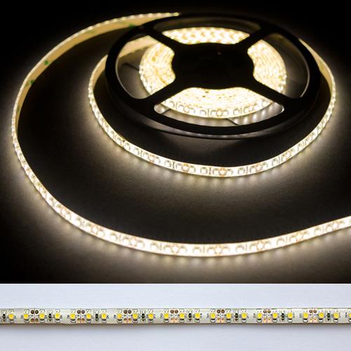 Герметичная светодиодная лента тёплого свечения 3528-600 LED, IP 65, 9,6 Вт/м, 12V. 5 Метров.