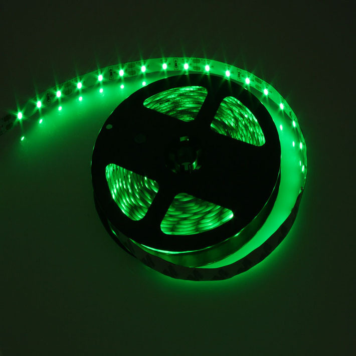 Загружен дляОткрытая светодиодная лента жёлтого свечения 3528-300 LED, IP 20, 4,8 Вт/м, 12V. 5 Метров.
