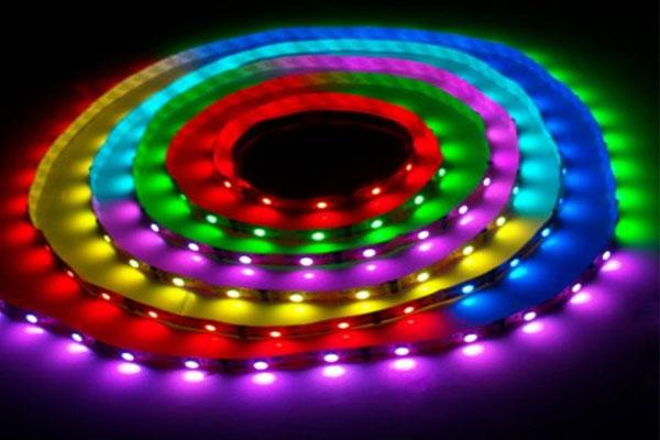 Герметичная светодиодная лента многоцветная 5050-150 LED, IP 65, 7,2 Вт/м, 12V. 5 Метров.