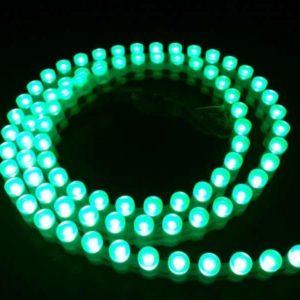 Светодиодная лента бокового свечения DIP 96 LED IP 67 12V красного свечения