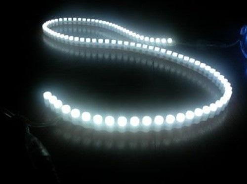 Светодиодная лента бокового свечения DIP 96 LED IP 67 12V белого свечения