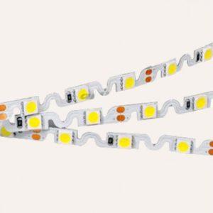 открытая SMD 2835-300 лента с возможностью изгиба в любом направлении Flexstrip IP20
