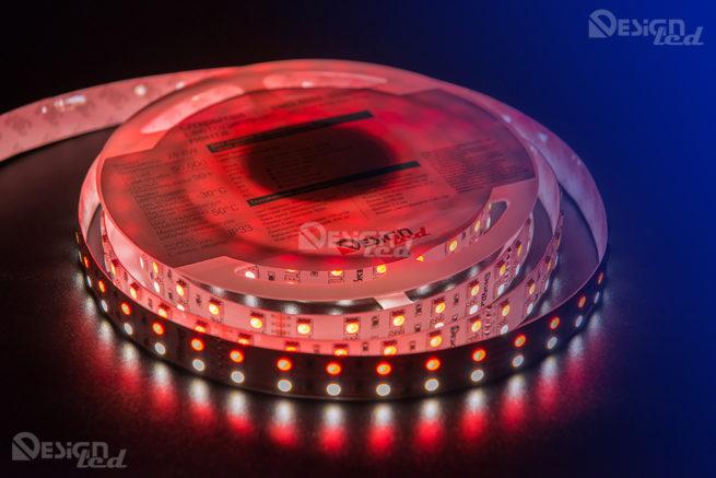 Светодиодная лента LUX 5050-RGB-DW-120L-V24-IP33