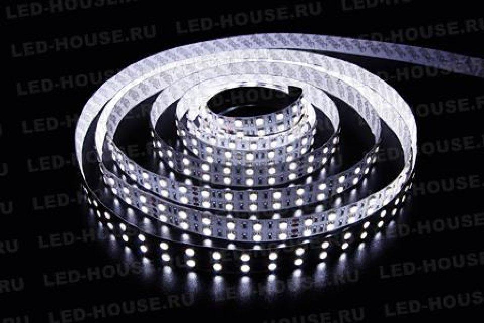 Светодиодная лента LUX 5050-W-120L-V24-IP33