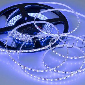 Светодиодные ленты / Ленты LUX smd 3528 открытые RT 12V 120 2x 5mm; Изображение товара: 015004 Лента RT 2-5000 12V Blue-5mm 2x (3528,600 LED,LUX)