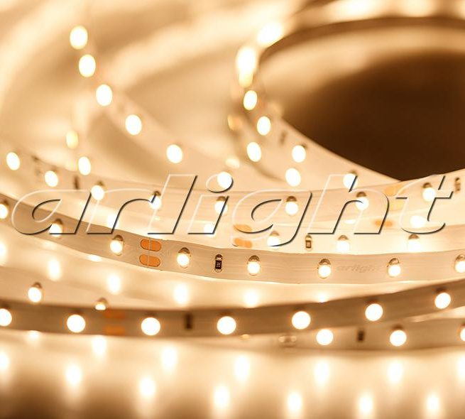 Светодиодные ленты / Ленты LUX smd 3528 открытые RT 24V 30, 60; Изображение товара: 016145 Лента RT 2-5000 24V Warm (3528, 300 LED, LUX)