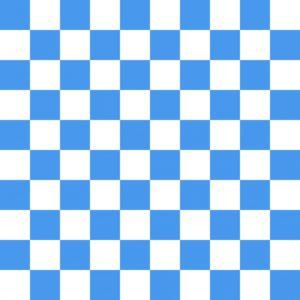 бело синий