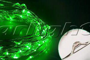 Светодиодный декор / Декоративные нити WR-5000 герметичные WR 12V 20 LED 1608; Изображение товара: 017994 Светодиодная нить WR-5000-12V-Green (1608, 100LED)