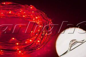 Светодиодный декор / Декоративные нити WR-5000 герметичные WR 12V 20 LED 1608; Изображение товара: 018123 Светодиодная нить WR-5000-12V-Red (1608, 100LED)