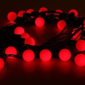 шарики красные