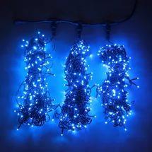 3 луча синий
