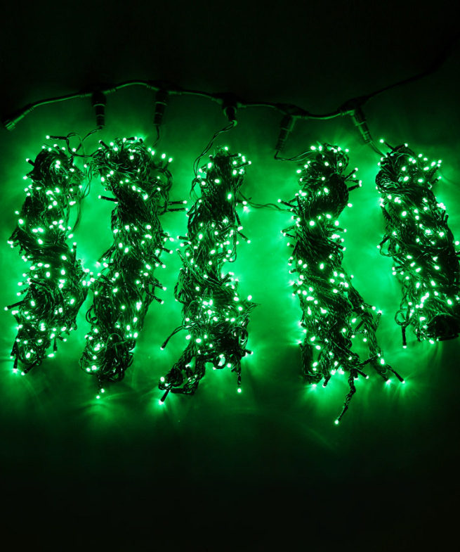 5 лучей зеленая