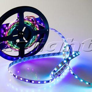 Светодиодные ленты / Ленты RGB бегущий огонь SPI 60 5060 2x [5V, 12V] автоном; Изображение товара: 021229 Лента SPI-5000-AM 12V RGB (5060, 300 LED x3,1804)